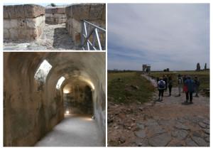 Vulci e le sue cinta murarie, la strada principale e l'abitazione di un illustre cittadino etrusco