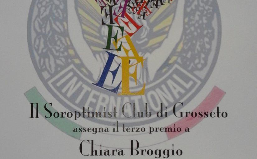 Premio Anna Maria Briganti - soroptimist club - terza classificata - fattoria didattica